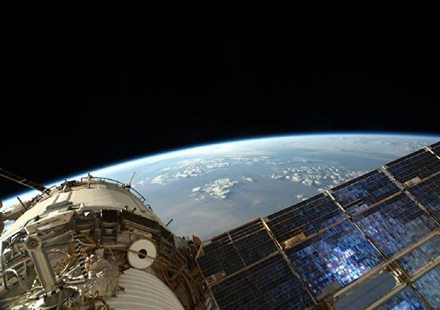 La Tierra vista desde la Estación Espacial Internacional (EEI)