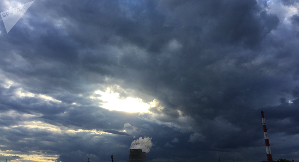 Las nubes en la región de Moscú (imagen referencial)