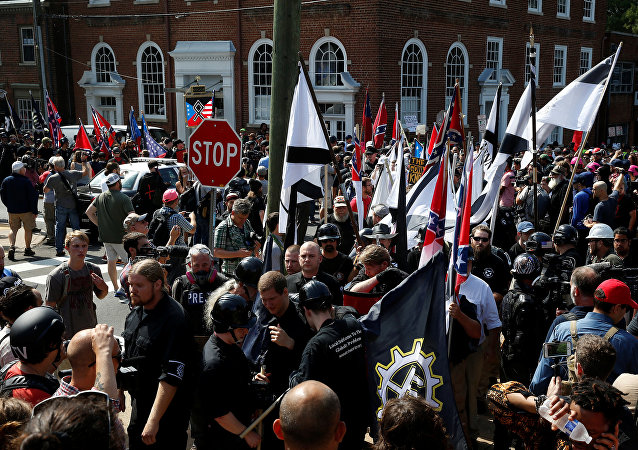 Manifestación ultraderechista en Charlottesville, EEUU (2017)