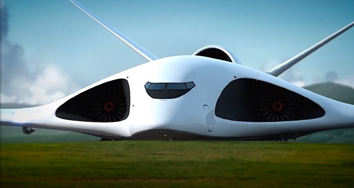 El concepto del avión de transporte de Alexéi Komarov