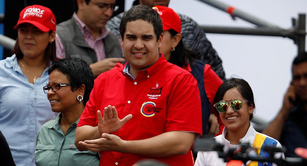 Nicolás Maduro Guerra, hijo del presidente de Venezuela, Nicolás Maduro