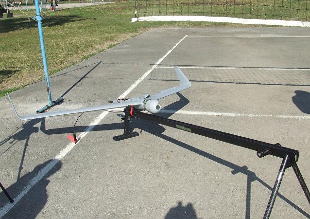 Dron Orbiter de fabricación israelí (imagen referencial)