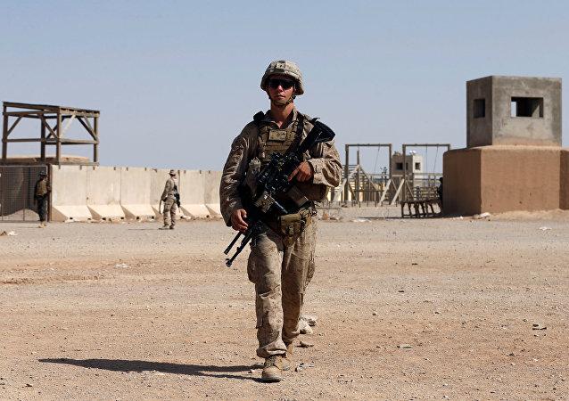 Un soldado estadounidense en Afganistán (archivo)