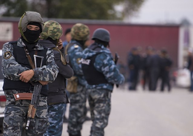 Cuerpos de seguridad de Kirguistán (archivo)