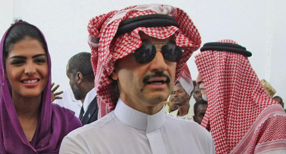 Alwalid bin Talal, el príncipe saudí