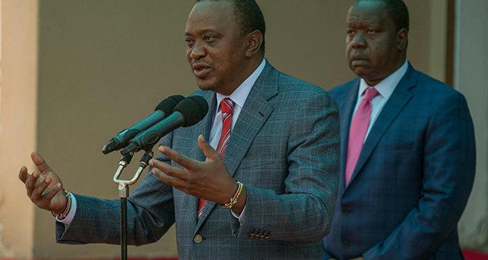 Uhuru Kenyatta, presidente electo de Kenia