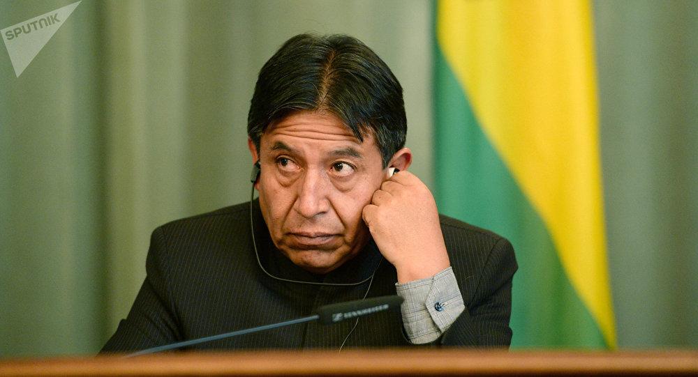 David Choquehuanca, canciller boliviano