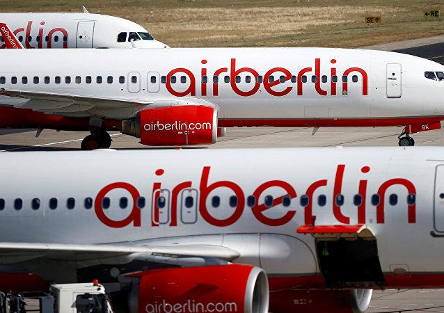 Aviones de la aerolínea Air Berlin