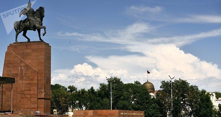 Biskek, capital de Kirguistán