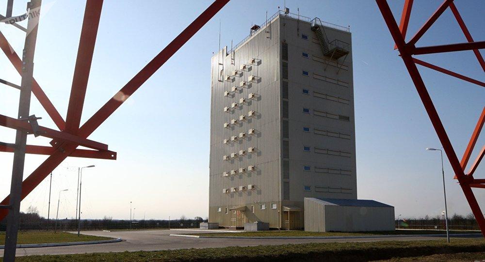 Una estación de radar Voronezh (archivo)