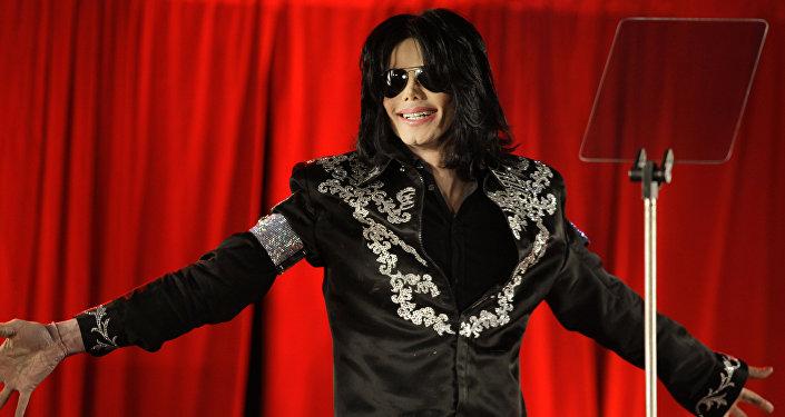 Michael Jackson, cantante estadounidense