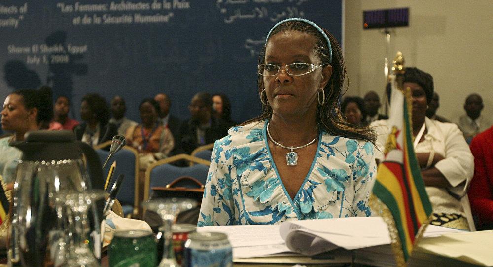 Grace Mugabe, la primera dama de Zimbabue