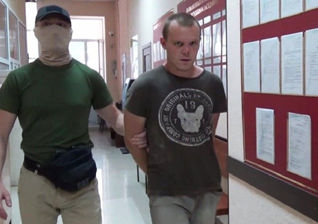 Militar ucraniano Guenadi Limeshko detenido en Crimea