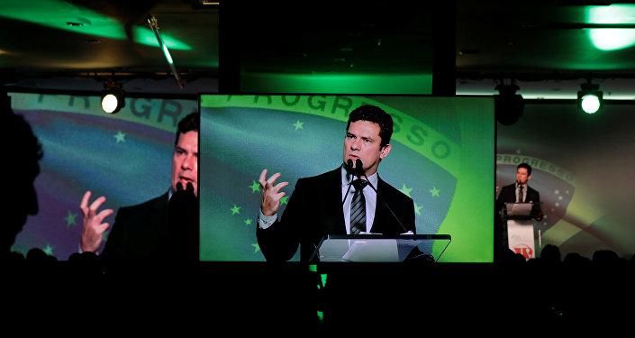 Sérgio Moro, exjuez federal brasileño