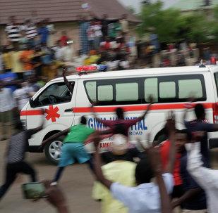 La ambulancia de Nigeria (archivo)