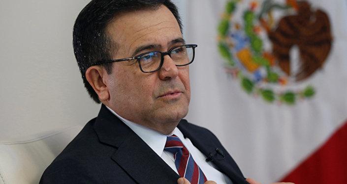 Ildefonso Guajardo, el secretario de Economía de México