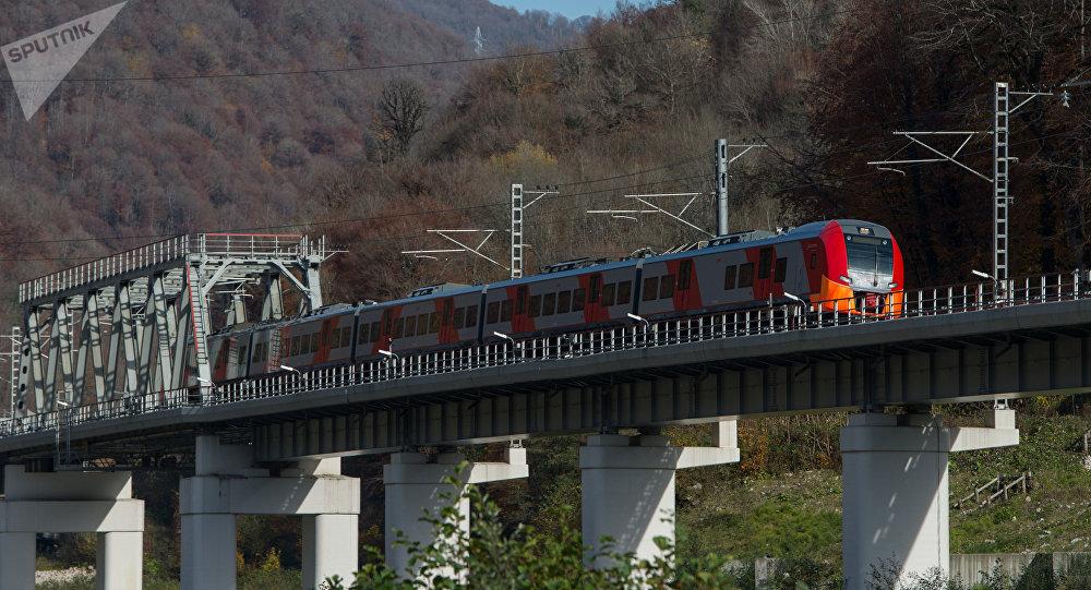 Tren de alta velocidad en Sochi