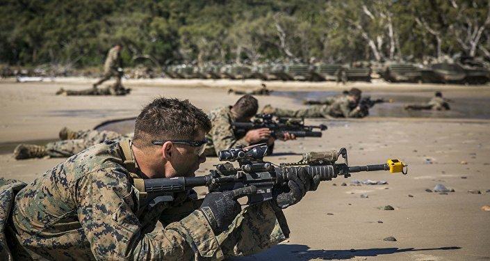 Los soldados estadounidenses