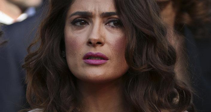 Salma Hayek, la popular actriz mexicana