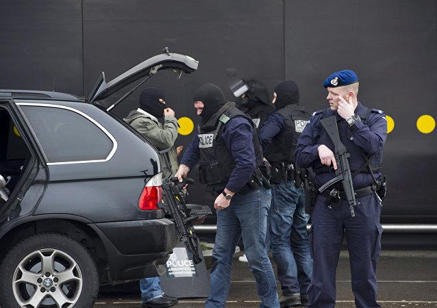 Policía de Países Bajos (archivo)
