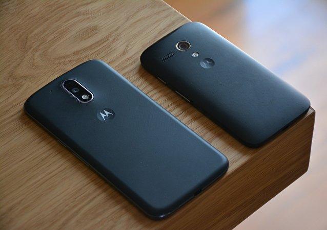 Teléfonos de Motorola (imagen referencial)
