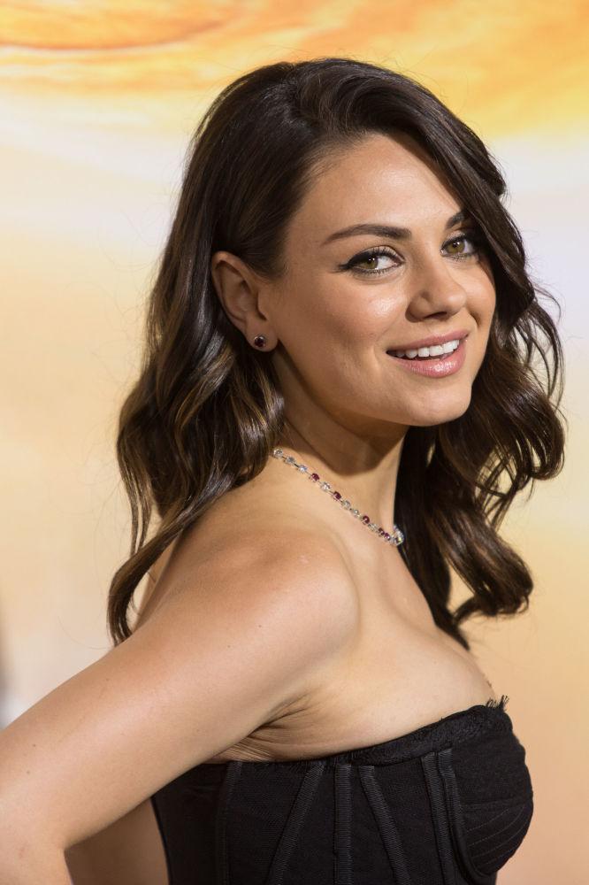 Mila Kunis, actriz estadounidense de origen ucraniano