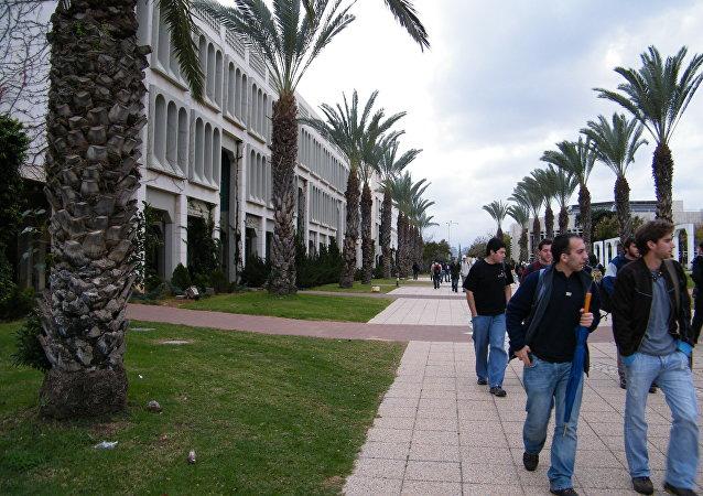 Estudiantes de la universidad de Tel Aviv (archivo)