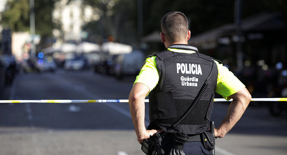 Policía en Barcelona