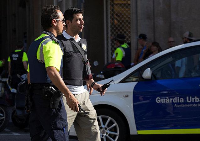 Policías en Barcelona (archivo)