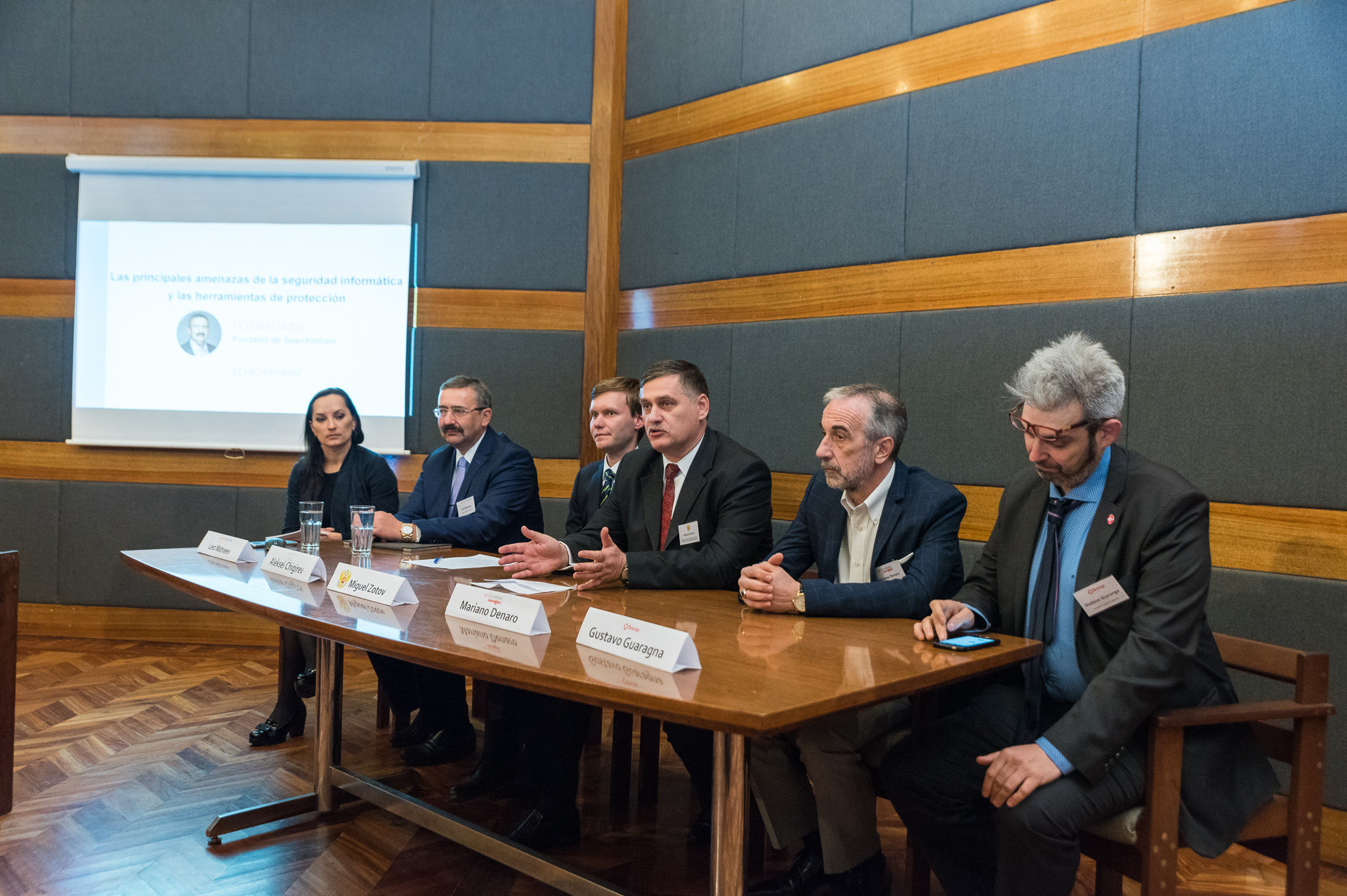 Presentación de SearchInform en la Representación Comercial de Rusia en Buenos Aires