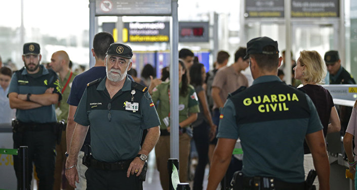 Guardia Civil en el aeropuerto de Barcelona (archivo)