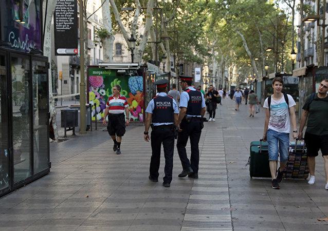 Las Ramblas, Barcelona, España
