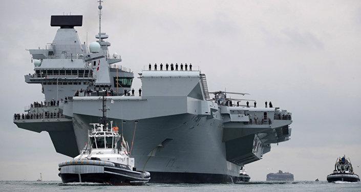 Queen Elizabeth, nuevo portaviones de la Armada del Reino Unido