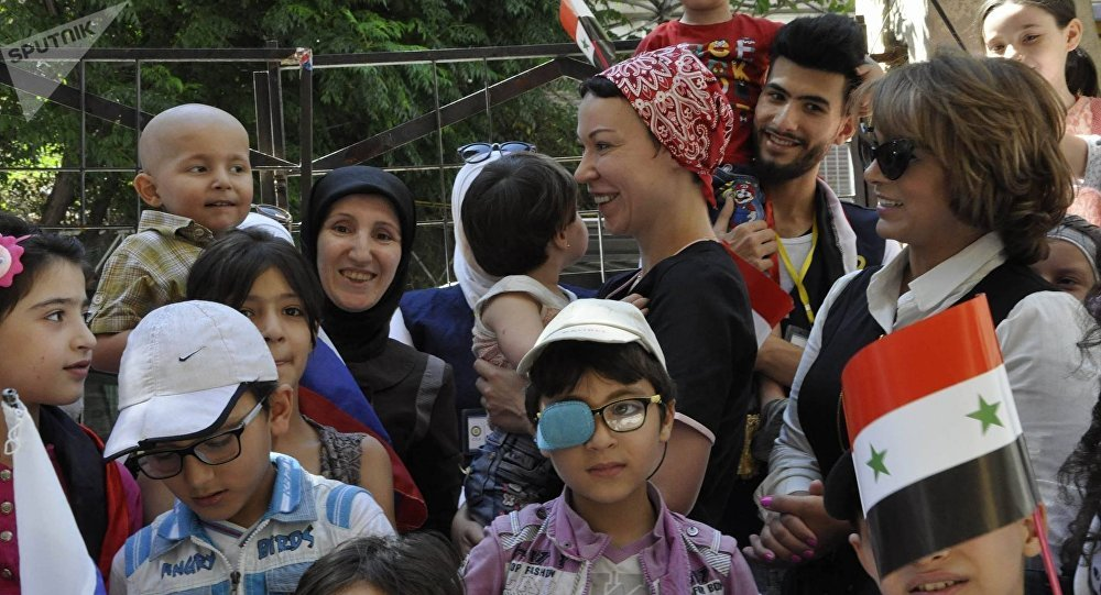 Niños sirios (archivo)