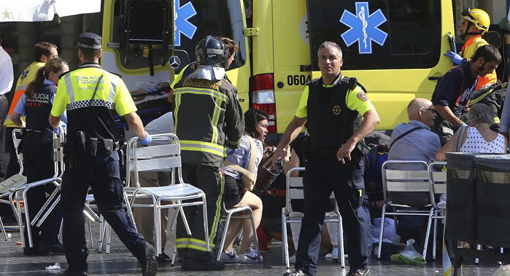 Los heridos del atentado de Barcelona