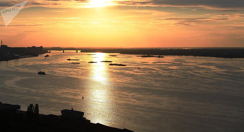 Volga, uno de los mayores ríos de Rusia