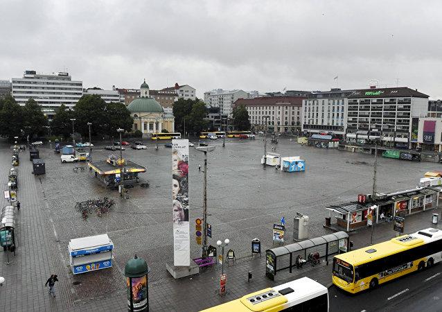 La situación en Turku, Finlandia