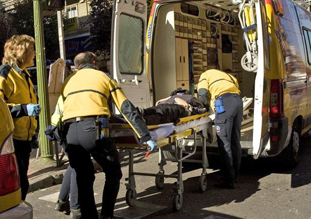 Ambulancia española (imagen referencial)