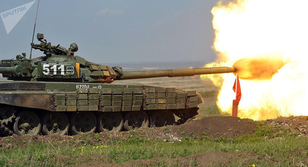 Un tanque ruso (imagen referencial)