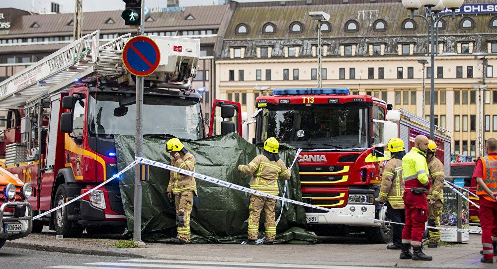 Turku, Finlandia, tras el ataque