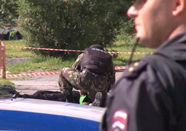Un desconocido asalta con un cuchillo a unos transeúntes en el norte de Rusia