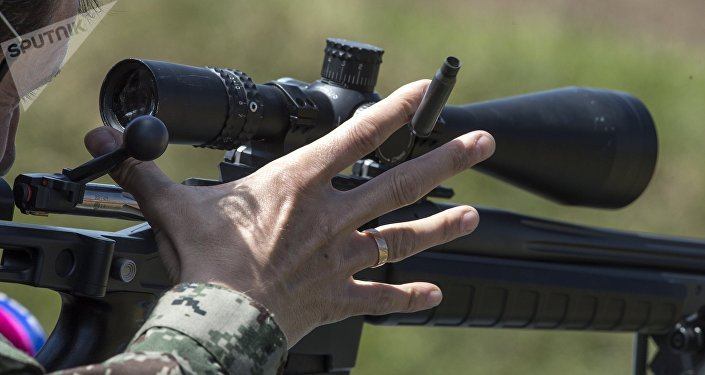 El Fusil ORSIS T-5000 en acción