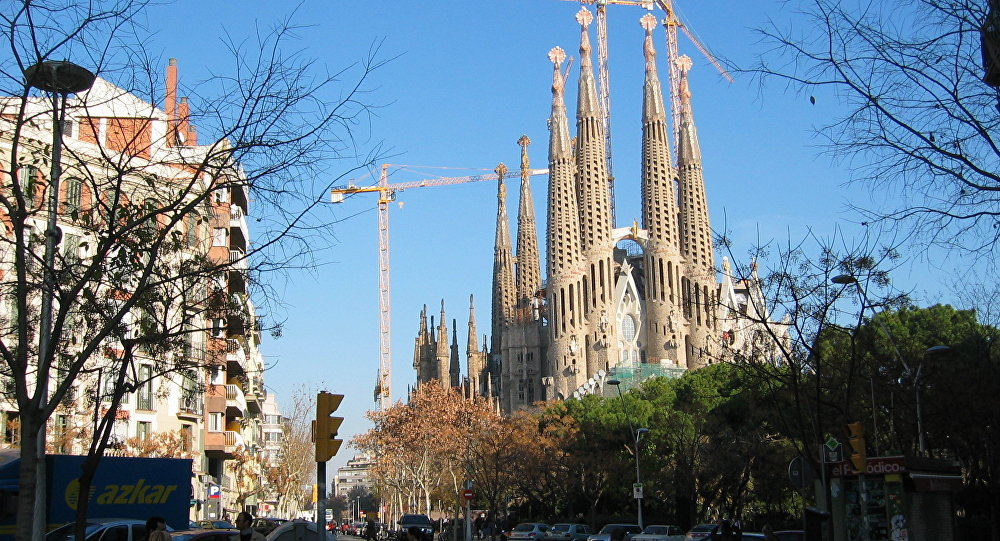 Sagrada Familia celebra misa por víctimas de atentados de Cataluña