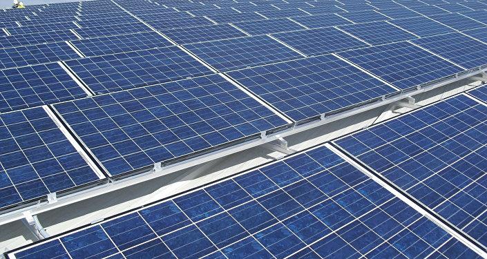 Placas fotovoltaicas (imagen referencial)