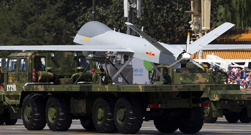 El dron chino Wing Loong (archivo)