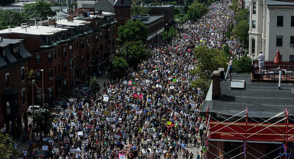 Protestas en Boston, EEUU