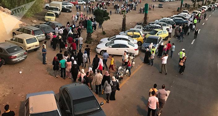 Exposición internacional en la capital siria, Damasco