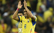 Cristhian Noboa, futbolista mediocampista ecuatoriano jugador del F.C. Zenit