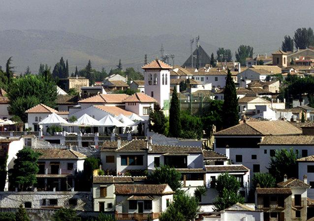 Mezquita Mayor de Granada, España