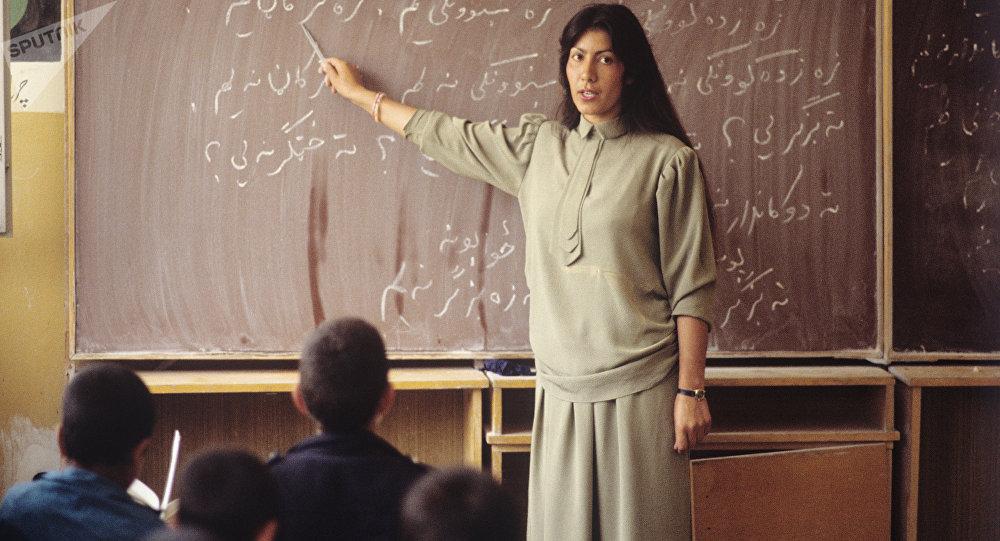 Niños musulmanes en la escuela (archivo)
